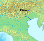 LocationPiaveRiver